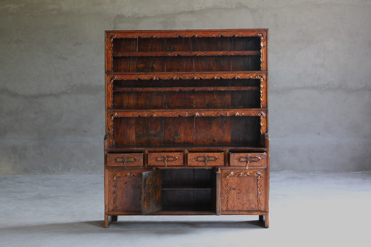 Large Tibetan Shelf Cabinet