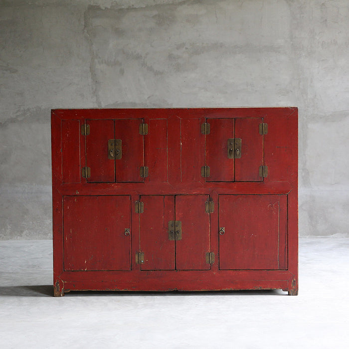 Large Eight Door Qinghai Cabinet