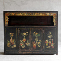 Qinghai Painted Display Cabinet