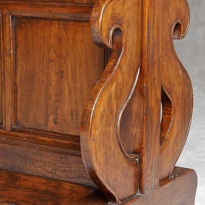 Carved Elm Room Divider