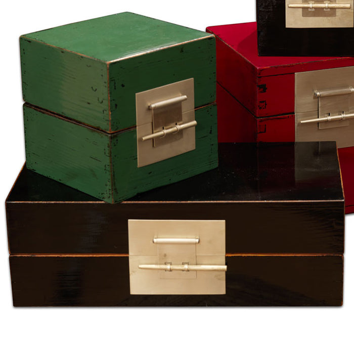 Rectangular Lacquer Box