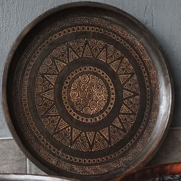 Palau Carved Low Tray