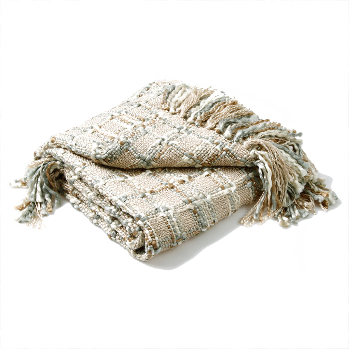 Kelso Throw, Natural Silver