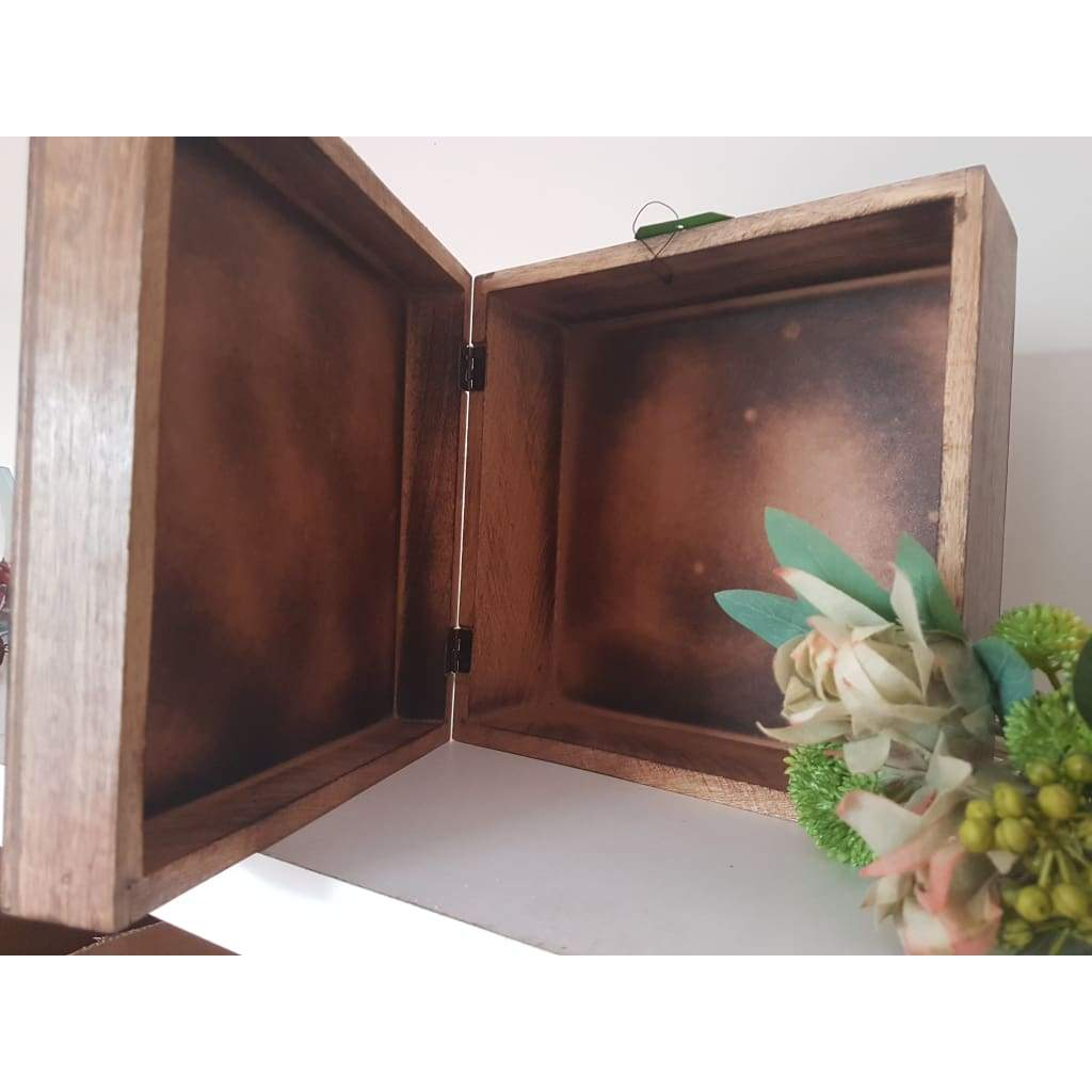 Divine Wooden Keepsake Chest - Why So Salty