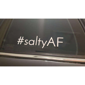 #saltyaf Decal - Why So Salty