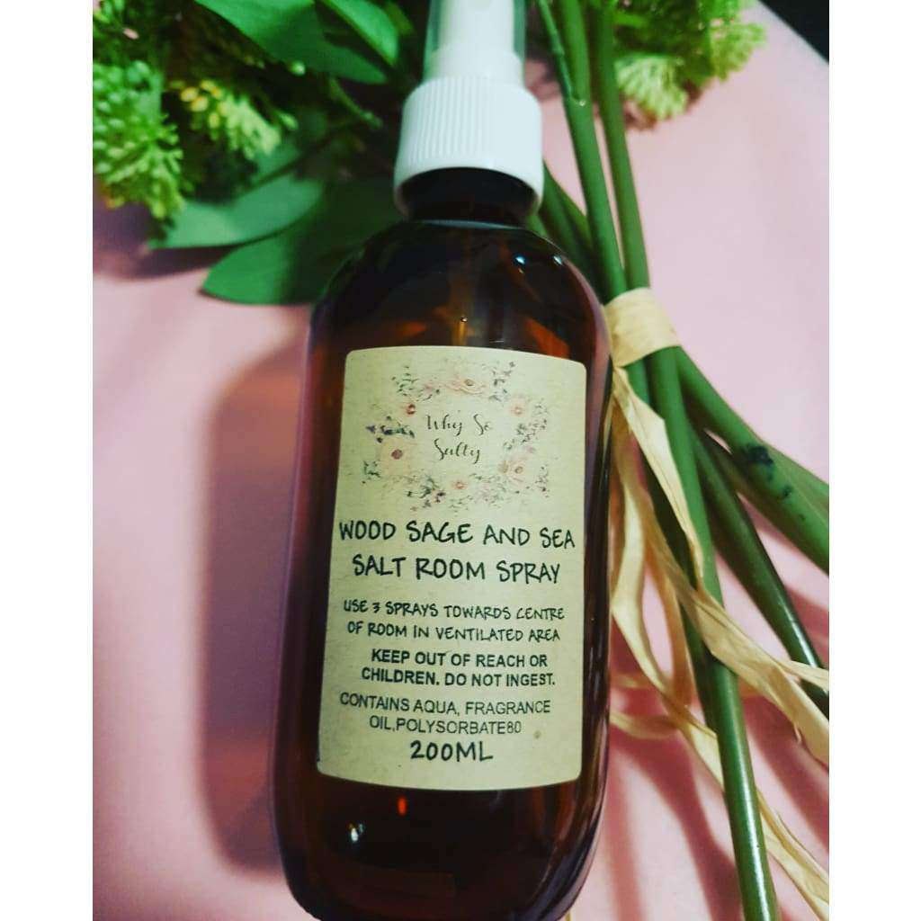 Wood Sage And Sea Salt Room Spray - Why So Salty
