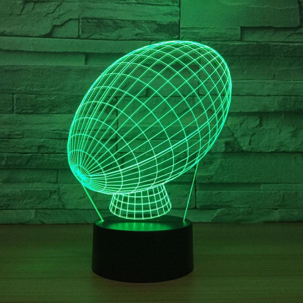 American Football 3D Led Lamp