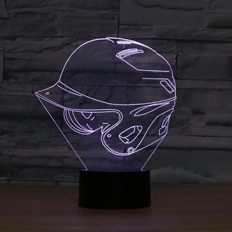 New Day Stock 3D Lamp Baseball Cap 3D Led Lamp