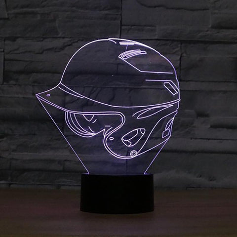 Image of New Day Stock 3D Lamp Baseball Cap 3D Led Lamp
