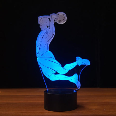 Image of New Day Stock 3D Lamp Basketball Dunk 3D Led Lamp
