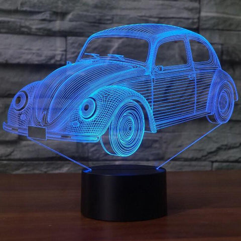 New Day Stock 3D Lamp Beetle Car 3D Led Lamp
