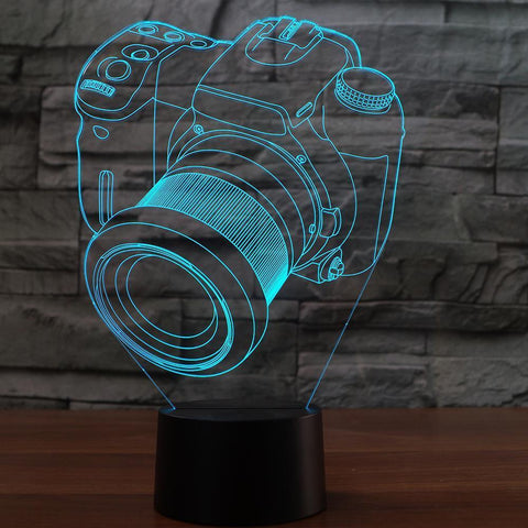 Image of New Day Stock 3D Lamp Camera Modelling 3D Led Lamp