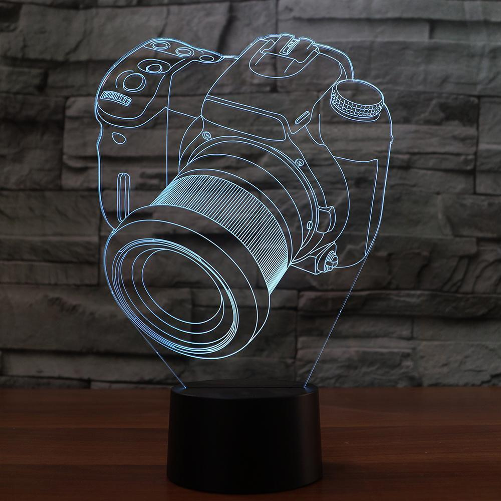 New Day Stock 3D Lamp Camera Modelling 3D Led Lamp