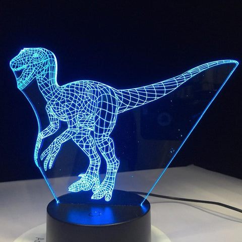 Image of New Day Stock 3D Lamp Dinosaur 3D Led Lamp