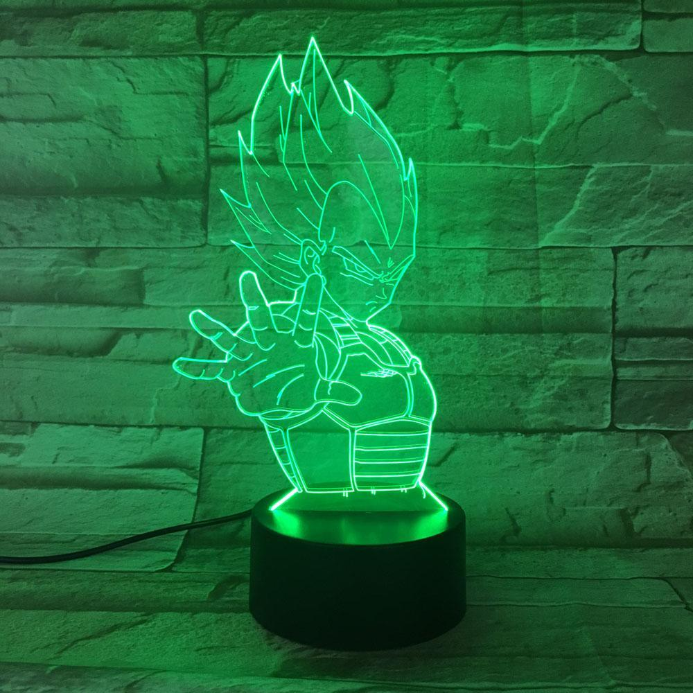 New Day Stock 3D Lamp Dragon Ball 3D Led Lamp