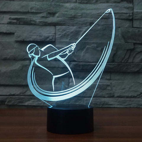 Image of New Day Stock 3D Lamp Golf 3D Led Lamp