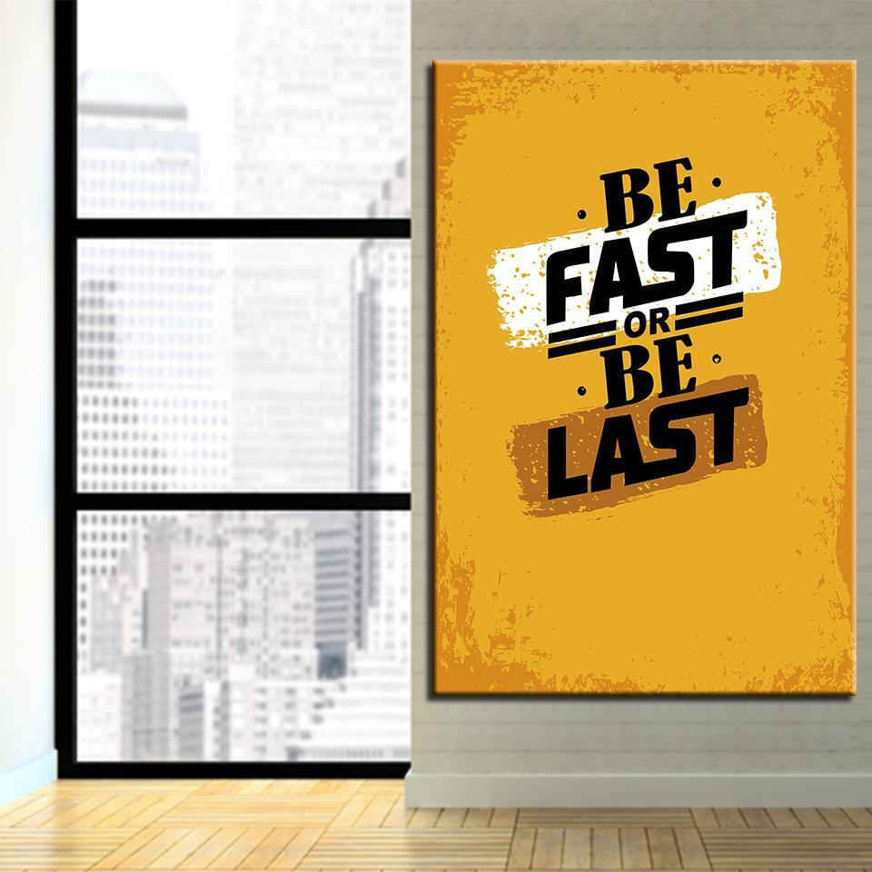 New Day Stock Canvas Paintings Be Fast Or Be Last