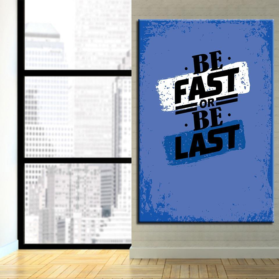 Be Fast Or Be Last - newdaystock