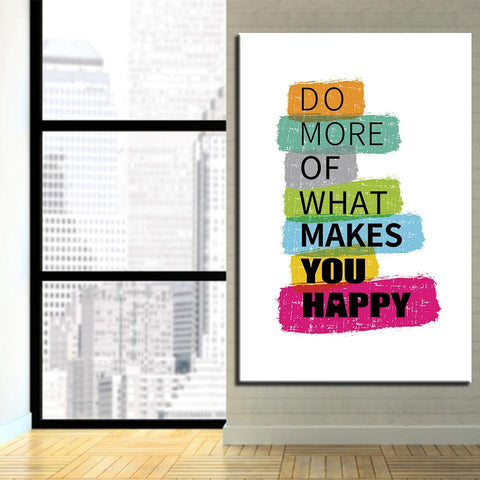 New Day Stock Canvas Paintings Do More Of What Makes You Happy