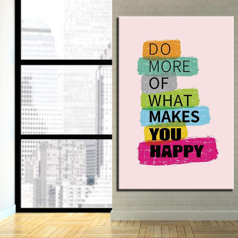 Image of Do More Of What Makes You Happy - newdaystock