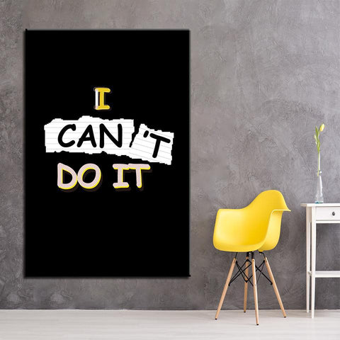 Image of New Day Stock Canvas Paintings I Can Do It 2