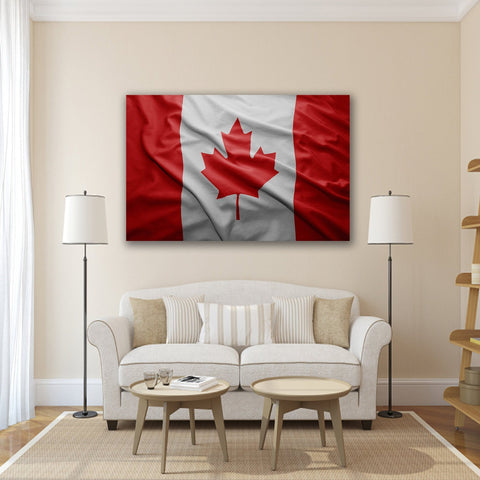 Image of New Day Stock Store Canvas Paintings Medium / 1 Piece / No Frame Canadian Flag Multi Panel Canvas Set