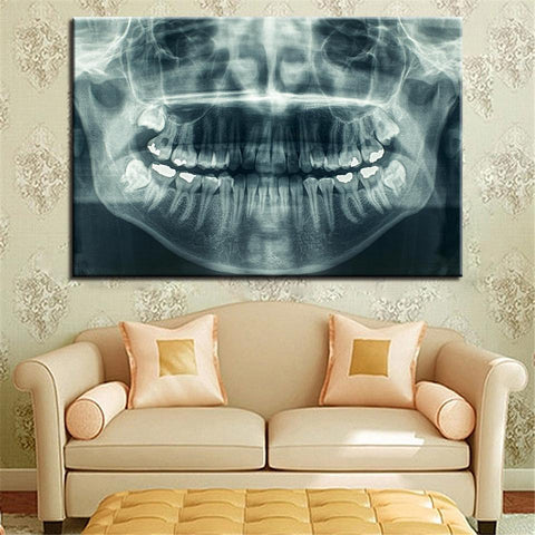 New Day Stock Store Canvas Paintings Medium / 1 Piece / No Frame Dental X Ray Multi Piece Canvas Set