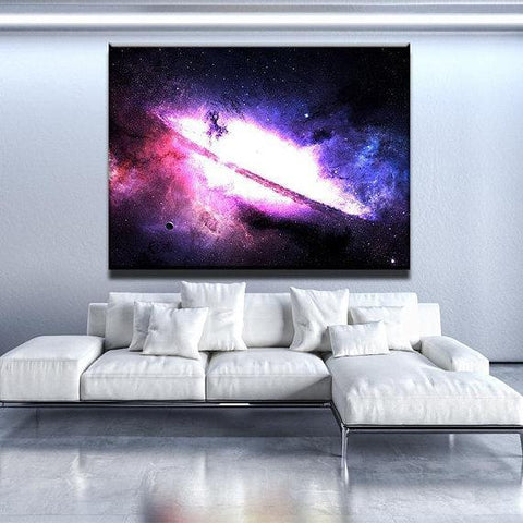 New Day Stock Store Canvas Paintings Medium / 1 Piece / No Frame Majestic Nebula Galaxy Multi Panel Canvas Set