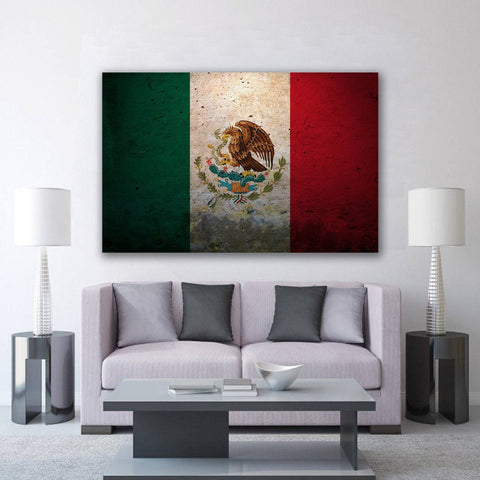 New Day Stock Store Canvas Paintings Medium / 1 Piece / No Frame Mexican Flag Multi Panel Canvas Set