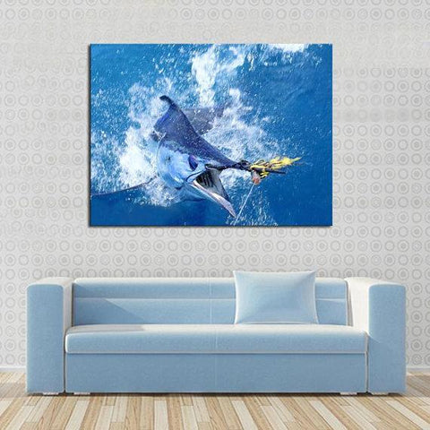 New Day Stock Store Canvas Paintings Medium / 1 Piece / No Frame Saltwater Fishing Multi Piece Canvas Set