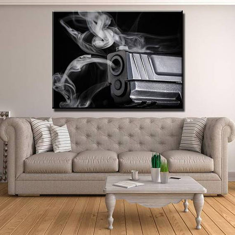 New Day Stock Store Canvas Paintings Medium / 1 Piece / No Frame Shots Gun Fired Multi Piece Canvas Set