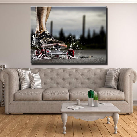 New Day Stock Store Canvas Paintings Medium / 1 Piece / No Frame Skateboarding Passion Multi Piece Canvas Set