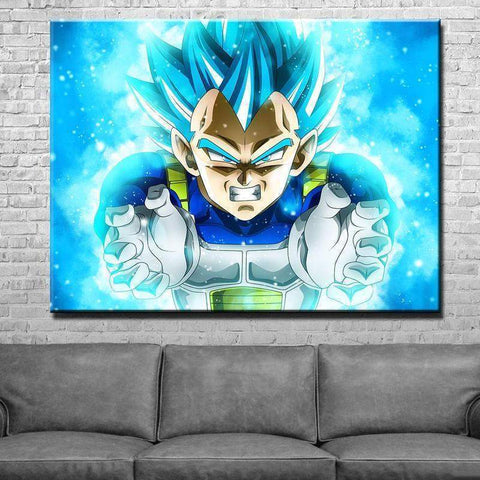New Day Stock Store Canvas Paintings Medium / 1 Piece / No Frame Vegeta Dragon Multi Piece Canvas Set