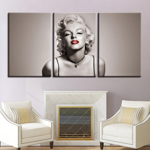 New Day Stock Store Canvas Paintings Medium / 3 Pieces / No Frame Marilyn Monroe Multi Piece Canvas Set 7
