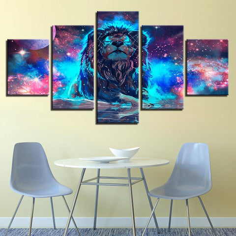Image of New Day Stock Store Canvas Paintings Medium / Framed The Lion King 5 Piece Canvas Set