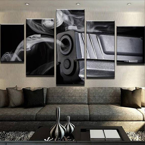 New Day Stock Store Canvas Paintings Small / 5 Pieces / No Frame Shots Gun Fired Multi Piece Canvas Set