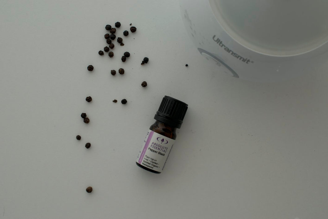Pepper Black 5ml (organic) - great for sore muscles