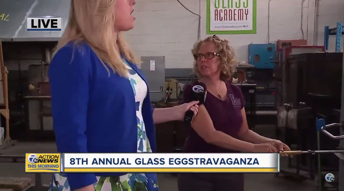 Annual glass eggstravaganza in Dearborn, featured on WXYZ-TV Detroit | Channel 7