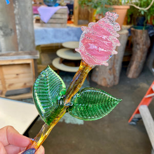 Solid Glass Rose - Signature Design by Chris Nordin
