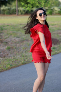 Lady in Red   by: virginaisforprepsters