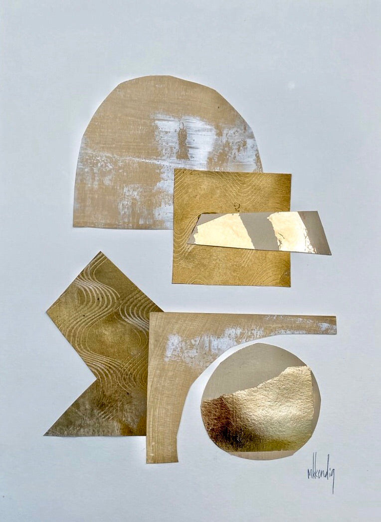 Gold Collage III