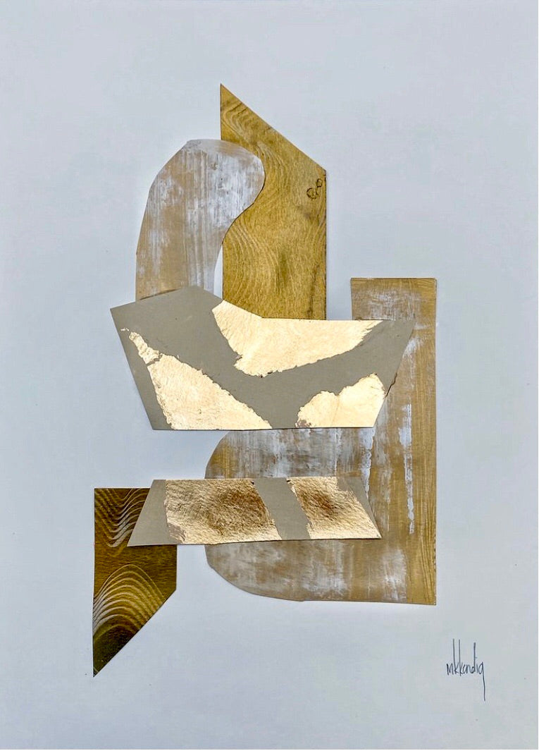 Gold Collage IV