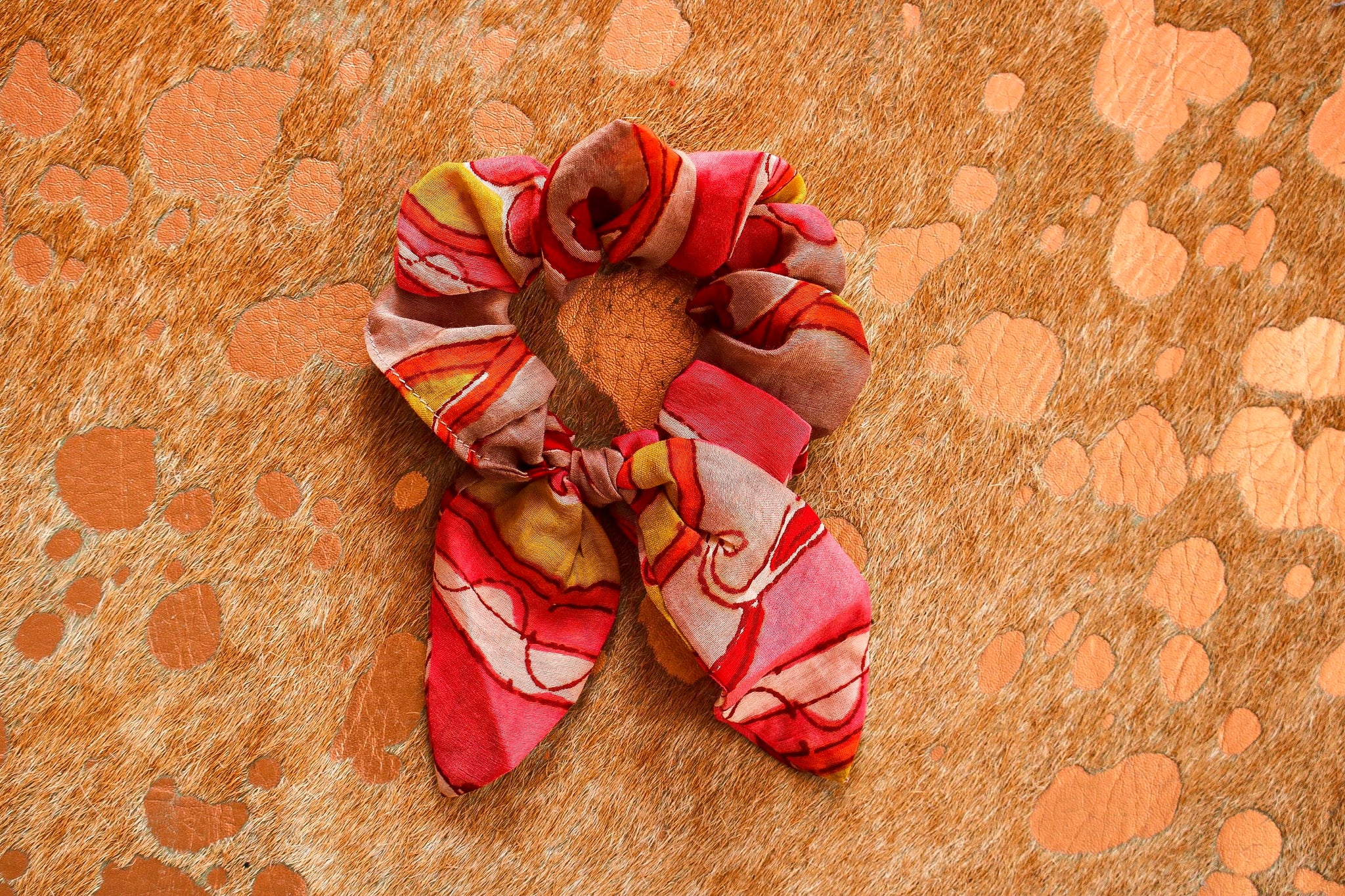 Fav red starburst Scrunchie | Chosen Women's Apparel