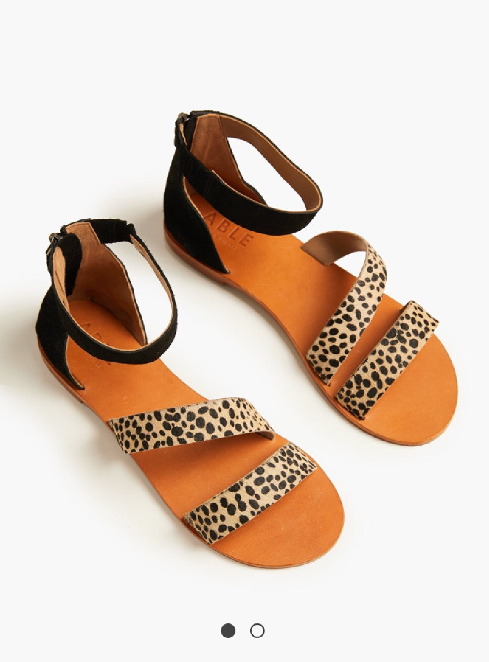 Cheetah Elisa sandal | Chosen Women's Apparel