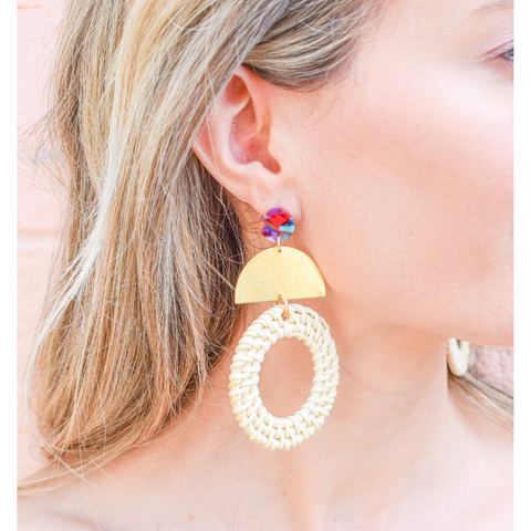 SV2013 pina colada earring | Chosen Women's Apparel