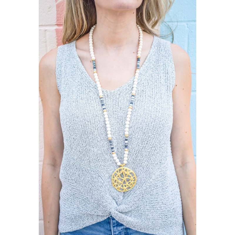 SV2010 B&W Somer Necklace | Chosen Women's Apparel