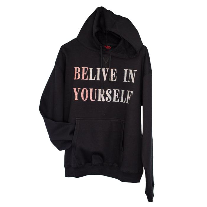 Believe In Yourself jumper sold by star performance co