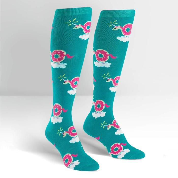 Sock It To Me Knee High Socks Donuticorn sold by star performance co.