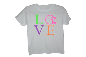 star performance co LOVE tee www.starperformanceco.com.au
