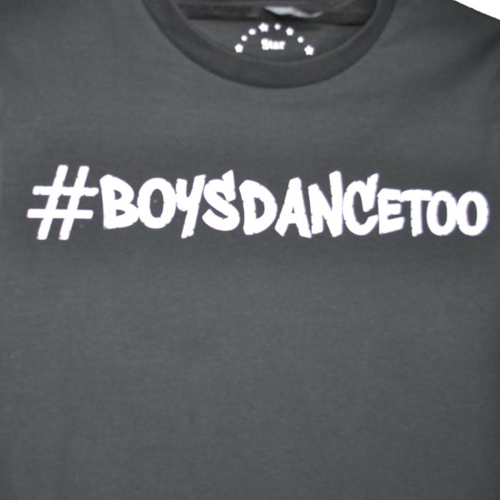 Dancedude T-shirt #BOYSDANCETOO